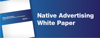 Native Advertising: Advertising That Gives Back to the         Consumer